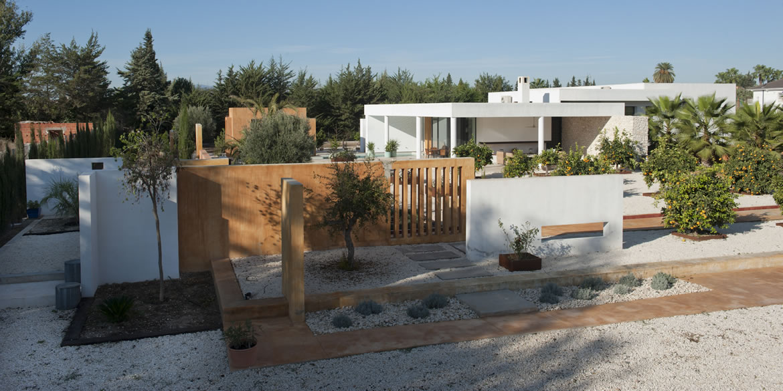Sta Catalina 8677 Arquitectura. Vivienda mediterránea entre naranjos