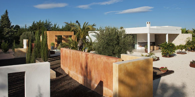 Sta Catalina 8687 Arquitectura. Vivienda mediterránea entre naranjos