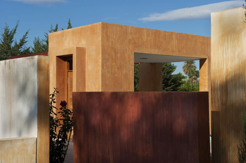 Sta Catalina 8688 Arquitectura. Vivienda mediterránea entre naranjos