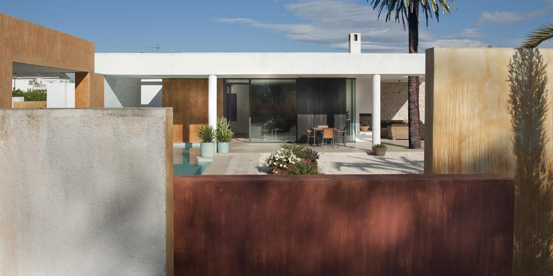 Sta Catalina 8690F Arquitectura. Vivienda mediterránea entre naranjos