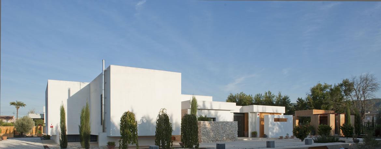 Sta Catalina 8751 Arquitectura. Vivienda mediterránea entre naranjos