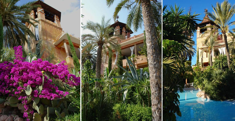 compo1mh Huerto Muher. Una fabulosa residencia en un valle de palmeras