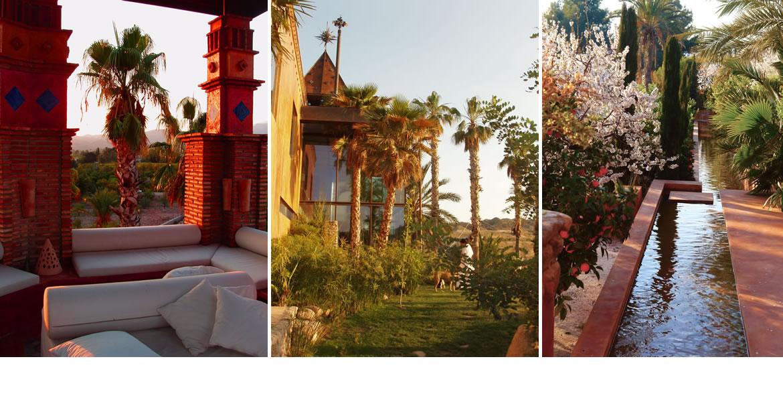 compo4mh Huerto Muher. Una fabulosa residencia en un valle de palmeras