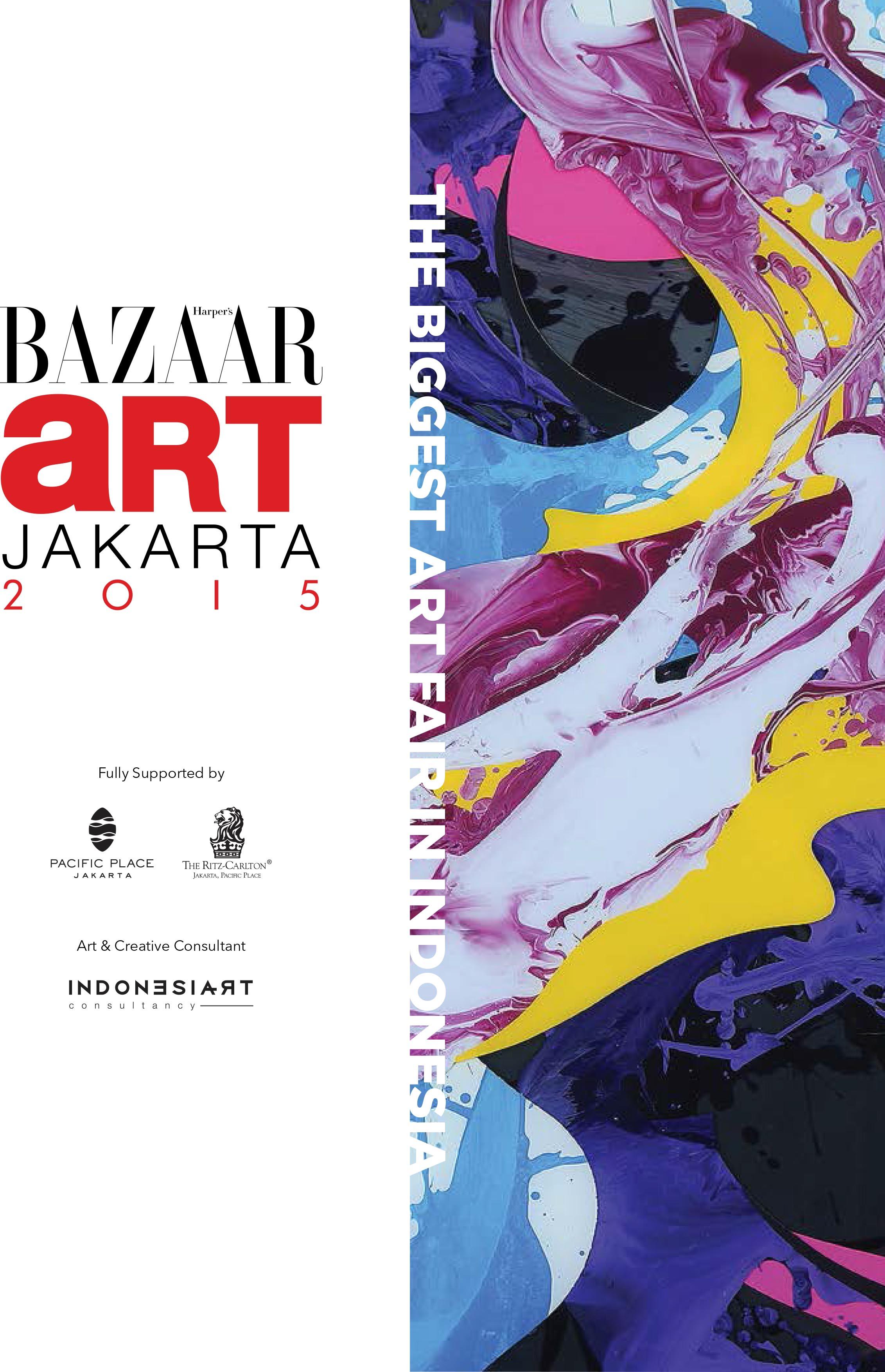 BAJ15 PRESS RELEASE 1 MUHER expondrá en la Bazaar Art de Yakarta 2015 (Indonesia)