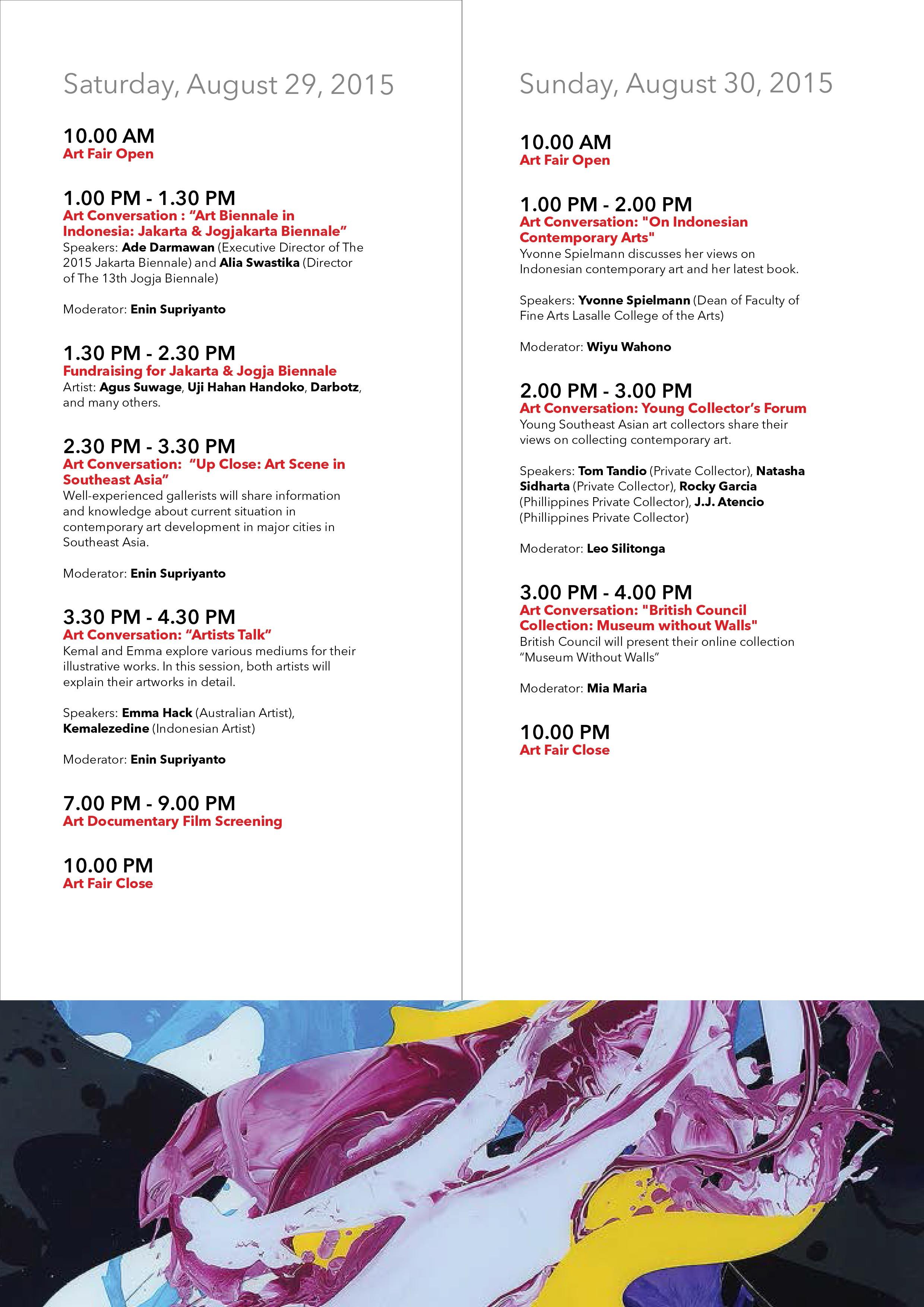 p7 MUHER expondrá en la Bazaar Art de Yakarta 2015 (Indonesia)