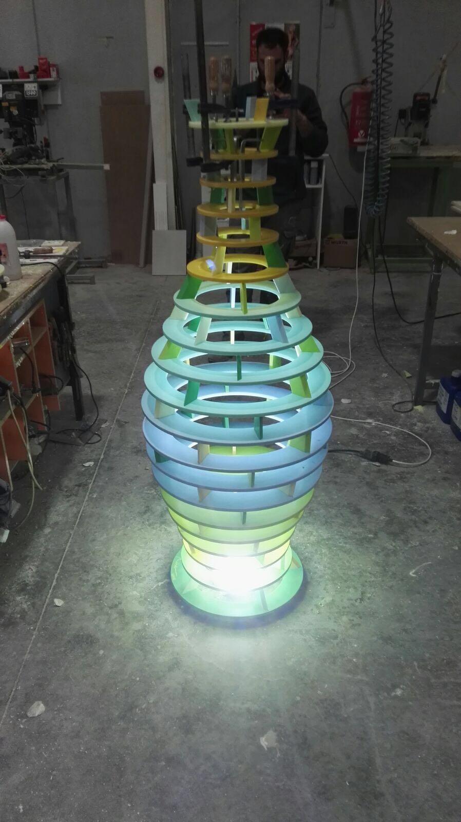 Escultura MUHER Philips Hong Kong 3 [:es]Muher crea una escultura Feng Shui para la sede de Philips en Hong Kong[:]
