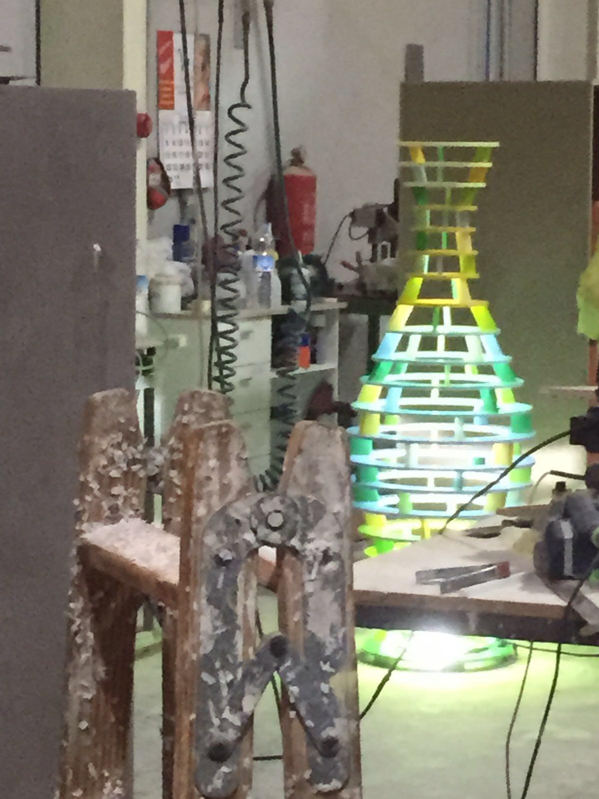 Escultura MUHER Philips Hong Kong 4 [:es]Muher crea una escultura Feng Shui para la sede de Philips en Hong Kong[:]