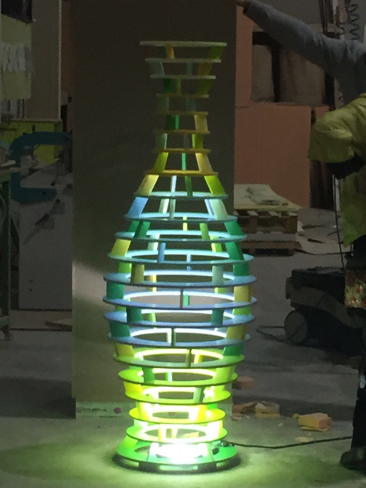 Escultura MUHER Philips Hong Kong 6 [:es]Muher crea una escultura Feng Shui para la sede de Philips en Hong Kong[:]