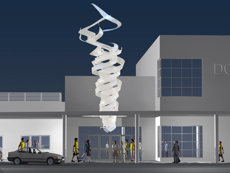 23 09 07 2014 Escultura para pabellón olímpico Miami