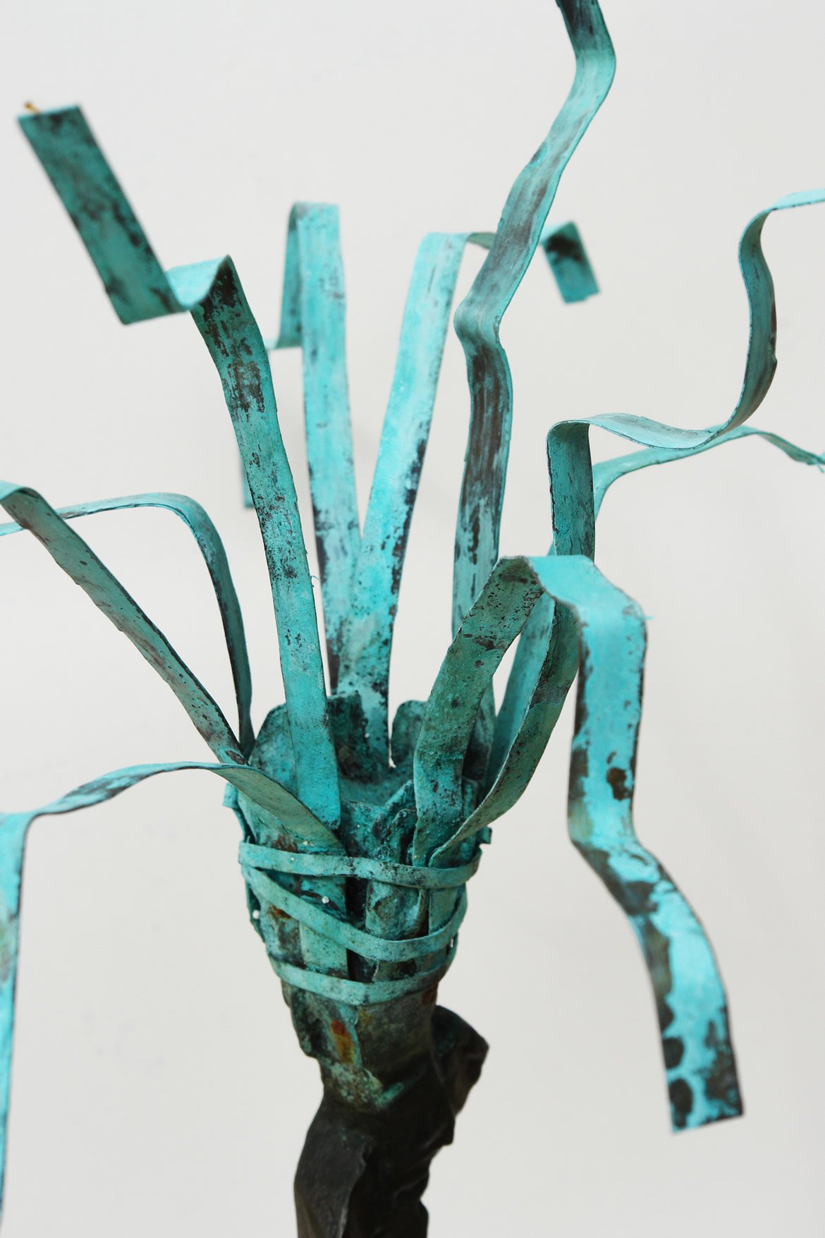 Ddetalla palmera Palmeras MUHER en bronce