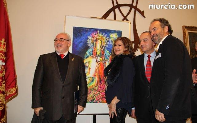 140120171616421 MUHER diseña el cartel oficial del III Encuentro Internacional de Hermandades y Cofradías que se celebrará en Murcia