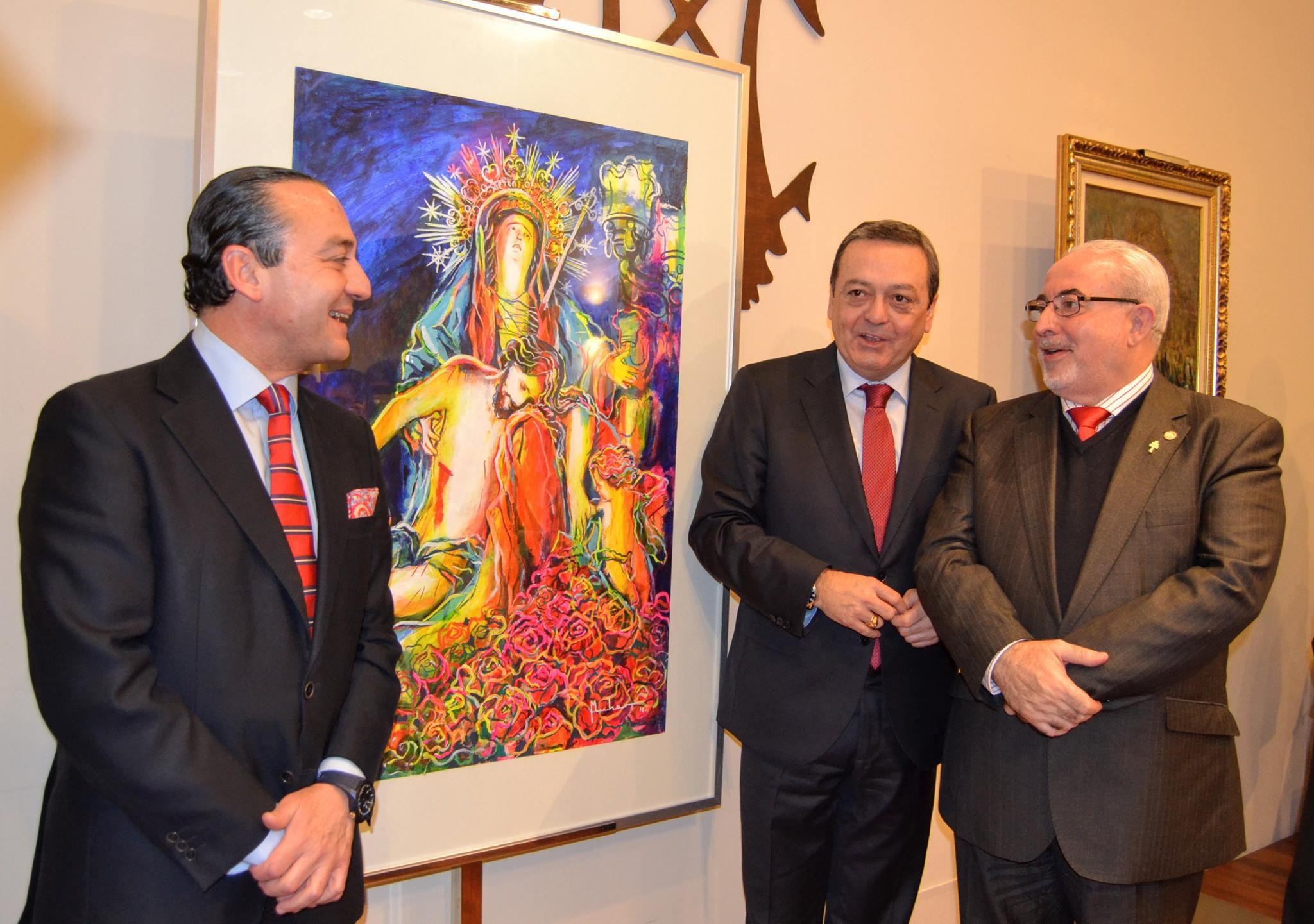 15995033 1258781357534420 2454147217324455369 o MUHER diseña el cartel oficial del III Encuentro Internacional de Hermandades y Cofradías que se celebrará en Murcia