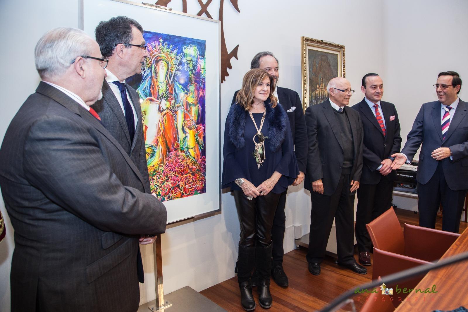 16112520 1053458171430790 1545785427227071246 o MUHER diseña el cartel oficial del III Encuentro Internacional de Hermandades y Cofradías que se celebrará en Murcia