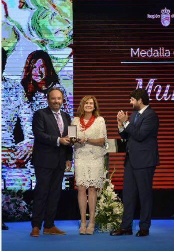 18951222 1187907521319187 5001283318647278283 n Gran acogida en Prensa de la Medallas de Oro de la Región de Murcia entregada a MUHER