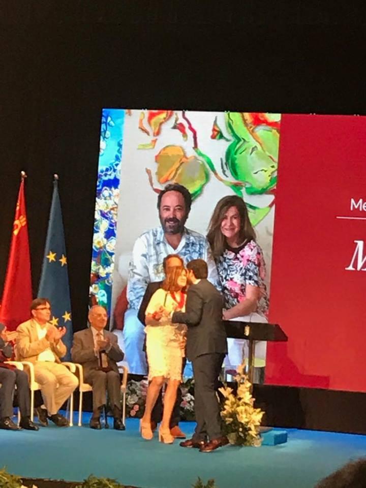 18951413 1188671161242823 4777527309895161571 n Gran acogida en Prensa de la Medallas de Oro de la Región de Murcia entregada a MUHER