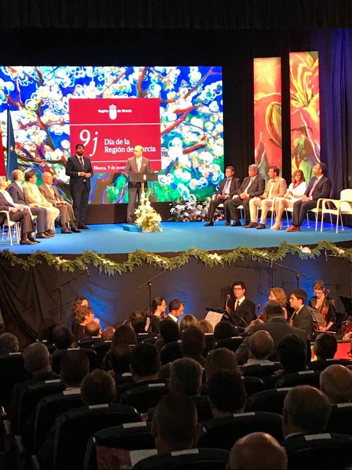 19059358 1188675161242423 1740163242967715048 n Gran acogida en Prensa de la Medallas de Oro de la Región de Murcia entregada a MUHER