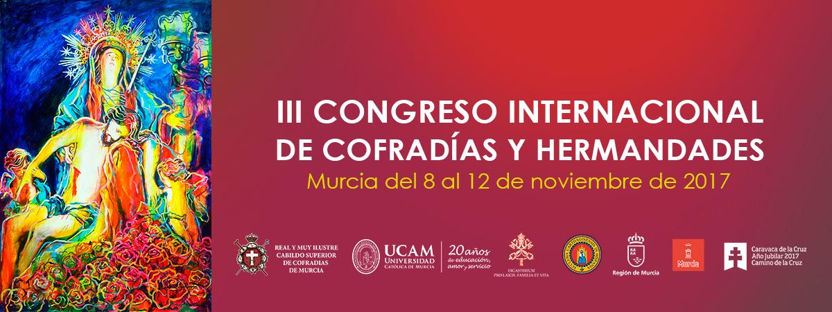 165561 Presentado el cartel del III Congreso Internacional de Cofradías y Hermandades diseño de MUHER