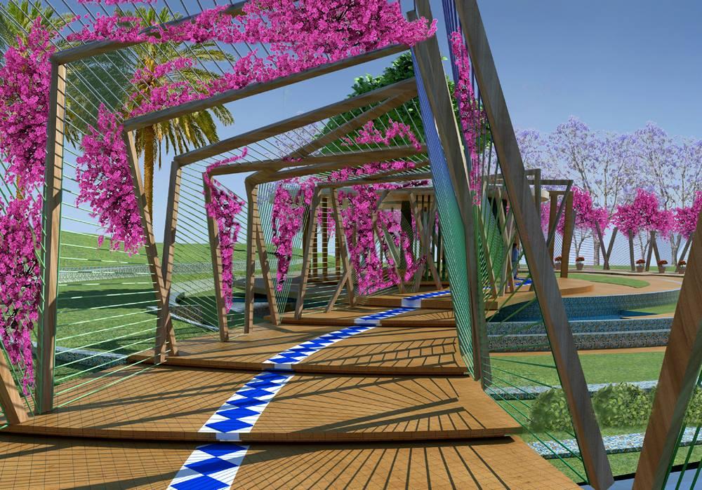 31493106 1472858689490734 3213609790609555456 o Actualización, proyecto jardín nacional en Nanning de inspiración mediterránea (Murcia)