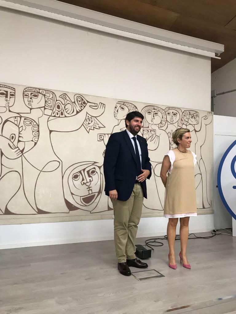 ccc9eebe 27e7 47a5 9b6a 390c0dae508f Presentación en la Escuela de Arte de Murcia