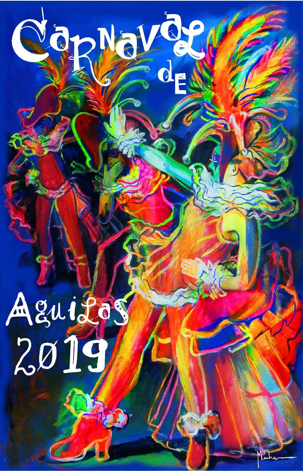 Cartel Carnavales Águilas Cartel Oficial del Carnaval de Águilas 2019