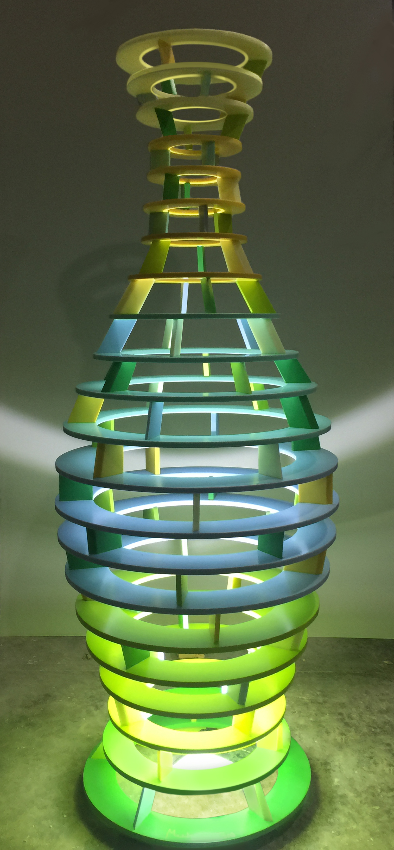 en]MUHER creates a FENG SHUI sculpture for Philips