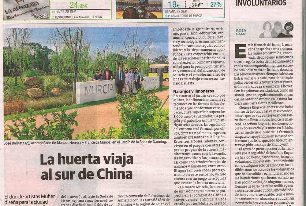 Muher en La Verdad de Murcia